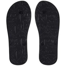 Quiksilver Molokai Wordmark Men Sandals black/grey/grey